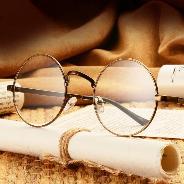 眼鏡框  圓形超輕眼鏡架框平光