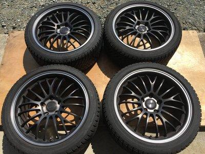 【比比昂.日本改裝 輪胎鋁框】送料無料!4本 レイズ ボルクレーシング C345プライム18×8 1/2J +52