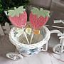 婚禮小物~?可愛草莓造型巧克力#二次進場小禮物#送客禮#婚禮派對#生日派對#幼稚園園遊會巧克力~~