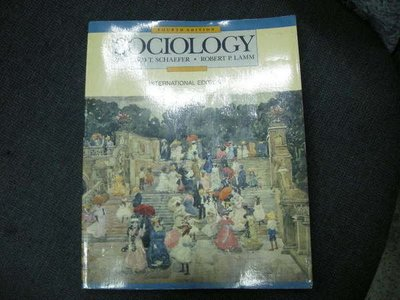 買滿500免運 / 崇倫《Sociology》ISBN:0071128050│McGraw-Hill│Schaefer