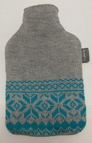 【宇冠】德國fashy 挪威灰色針織  2L冷/熱兩用水袋,特價優惠$920元