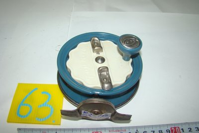 采潔 日本二手外匯釣具  富士輪 40Fuji  前打輪 牛車輪 日本製  二手釣具 釣竿 捲線器 編號K63