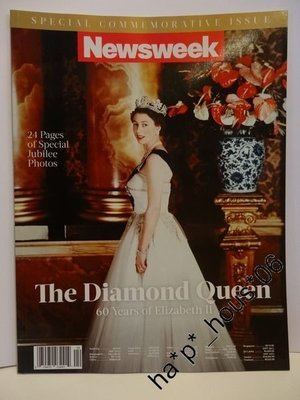 Newsweek special issue British UK Queen  英女皇 伊莉沙伯二世 登基