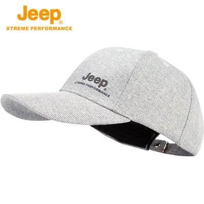 棒球帽 鴨舌帽 遮陽 運動 潮流Jeep/吉普 夏騎行運動帽子男女棒球帽 防曬遮陽帽 透氣百搭鴨舌帽