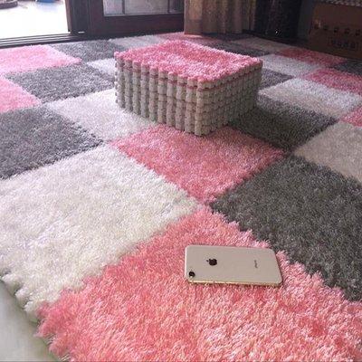 拼接絨面網紅地毯拼圖泡沫地墊臥室滿鋪地板墊榻榻米
