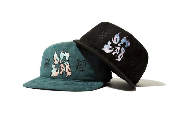 { POISON } DeMarcoLab DG.GAME SUEDE 6 PANEL 日本進口頂級麂皮 電繡圖騰棒球帽
