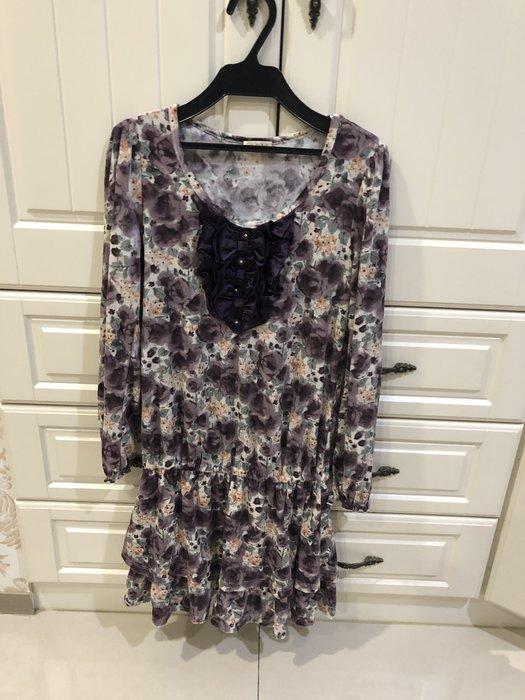0918玫瑰絨布洋裝~999