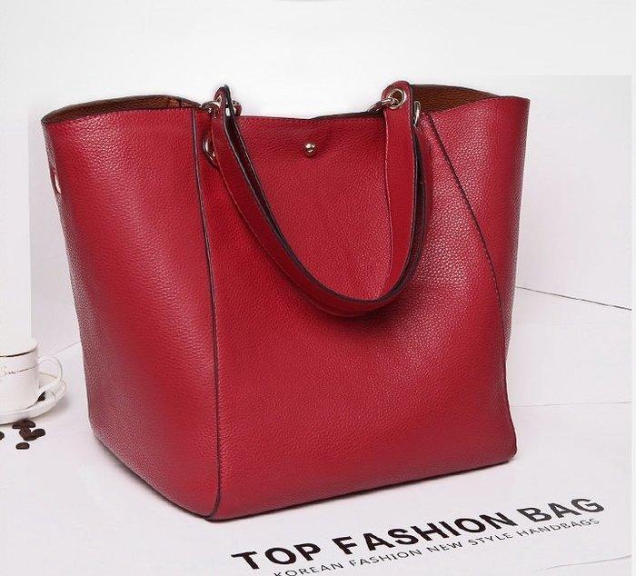 復古簡約百搭單肩手提大包子母包-4色「預購」Regina Shop【LG6010108】