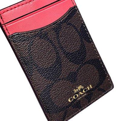 【豆芽Tsai 美國商品】美國正品 COACH ID / 識別證 / 證件夾 /  生日禮物   [1000元含運費]