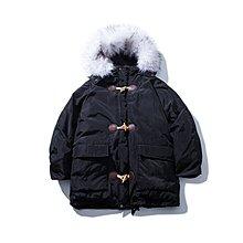 【匠人服飾】冬季新款棉衣韓版棉服男士大毛領棉襖加厚工裝外套潮