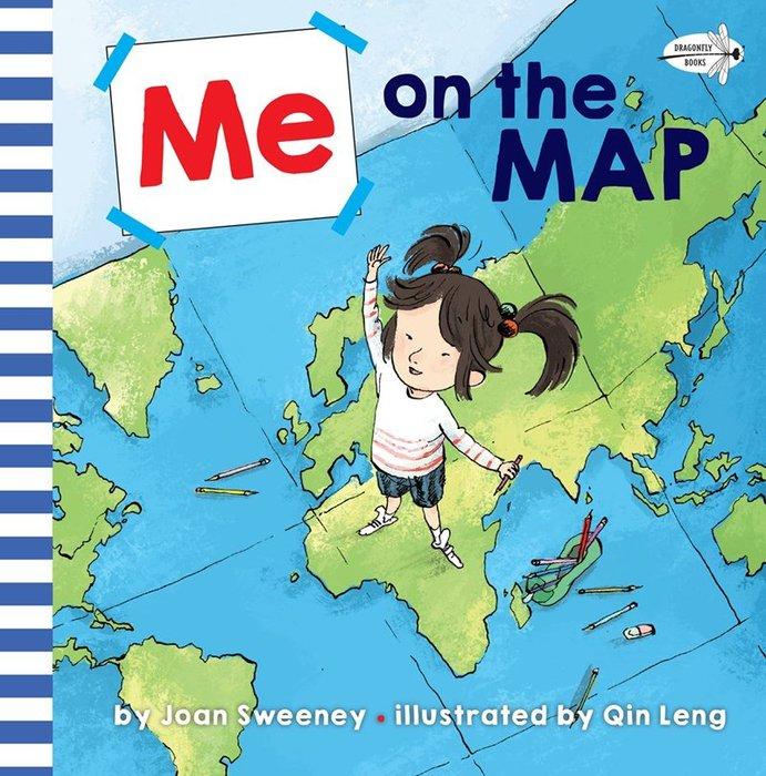 *小貝比的家*ME ON THE MAP/平裝/3~6歲/社會文化