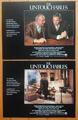 鐵面無私 (The Untouchables) - 史恩康納萊、勞勃狄尼諾 - 美國原版電影劇照 (1987年)