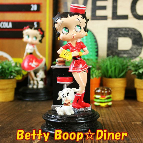 (I LOVE樂多)日本進口 BETTY貝蒂公仔(美式餐廳服務生)送人自家收藏皆適宜