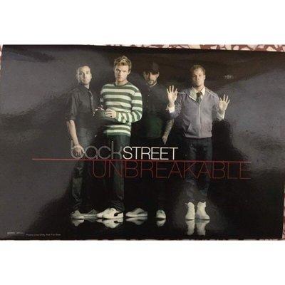 《絕版全新》Backstreet Boys 新好男孩 Unbreakable 預購桌曆
