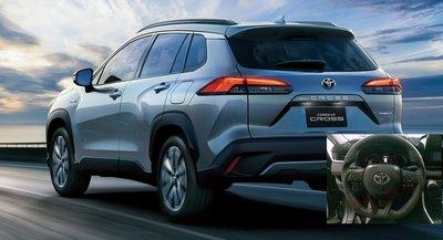 (小鳥的店)豐田 2020-2021 Corolla Cross 變形蟲 方向盤 賽車級 SGS 牛皮