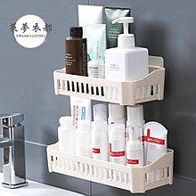 浴室置物架免打孔浴室置物架衛生間掛墻式放洗發水沐浴露的架子 【MAX衣捨】