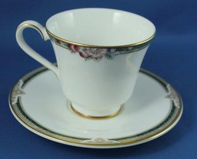 [美]ROYAL DOULTON骨瓷茶杯/咖啡杯二用杯組..ORCHARD HILL + FORSHTH系列,全新品