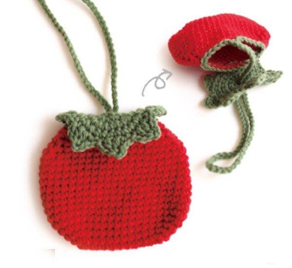 紙線、麻繩、毛線編織 草莓包包材料~手工藝材料、編織工具、編織書、進口毛線、夏紗~<彩暄手工坊>