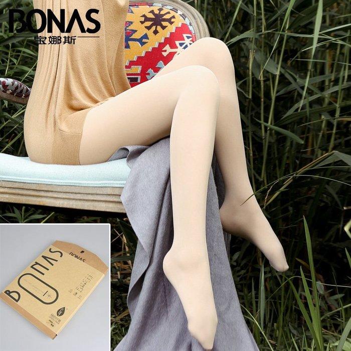MIX style SHOP【S-444】秋冬新款❤宝娜斯200D輕舒沸騰襪/原色天鹅绒加襠褲襪~(2色)