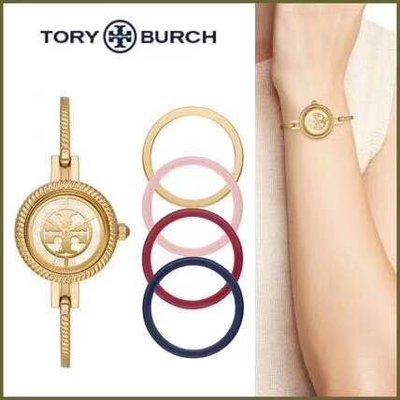 【全新正貨私家珍藏】TORY BURCH REVA_CUFF女款 鋼錶帶石英手錶TBW4037