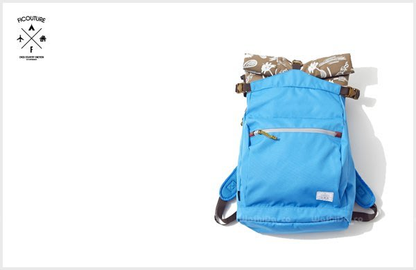 WaShiDa PLUS+【ficouture Paisley Roll Top Day Pack 後背包】 TC-72