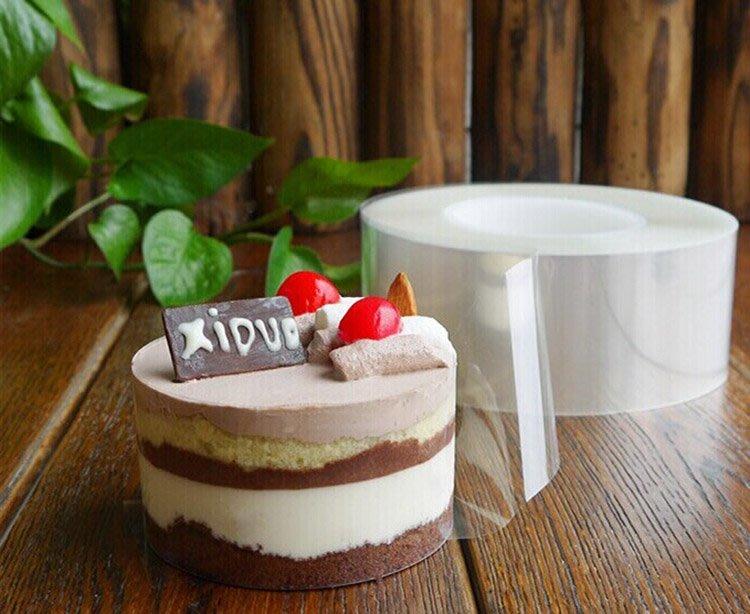 透明幕斯圈 愛烘培 LOVE BAKE 寬6cm  蛋糕捲模