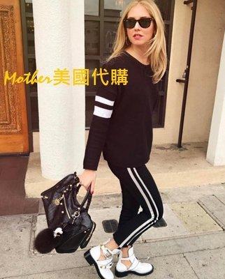 特價Mother ♥美國代購 歐陽娜娜 Chiara穿 超熱銷Mother INSIDER下擺前短後長八分喇叭牛仔褲眨眼