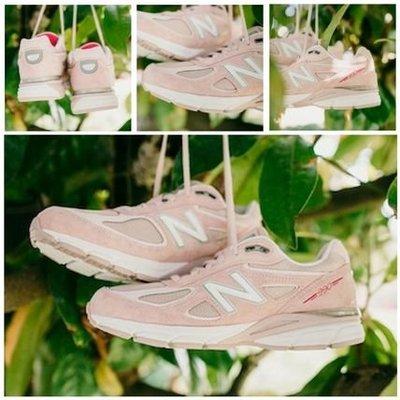 47c93bdc57c05 [SYG] New Balance 990 us6B=23cm 女鞋櫻花粉美製W990KMN4 990v4
