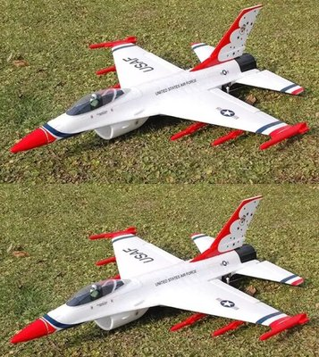 遙控飛機 RC航模 F16 導風扇航道美機