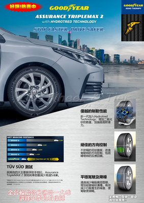 桃園 小李輪胎 GOOD YEAR 固特異 ATM2 205-55-16 高性能轎車 輪胎 全系列 大特價 歡迎詢價