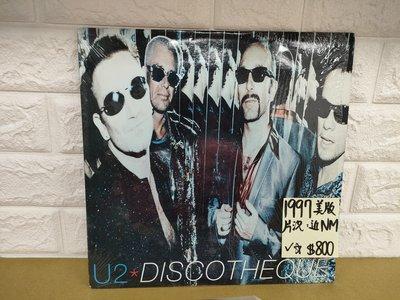 1997美版U2 Discotheque 西洋流行黑膠