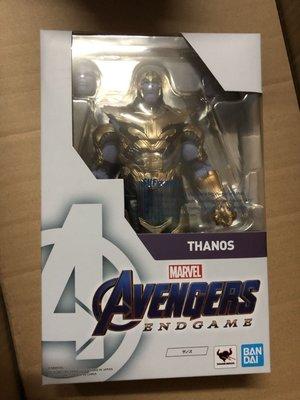 (最後減價)全新 Shf Thanos end game bandai 復仇者4 復仇者聯盟 終局之戰 Marvel Avengers 滅霸 復仇者