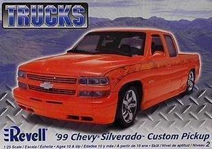 利華Revell拼裝汽車模型85-7200 1/25 99 Chevy Silverado