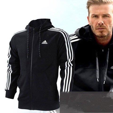 ADIDAS ATHLETICS ESSENTIALS 3-STRIPES Adidas 愛迪達 衛衣 外套 連帽T桖