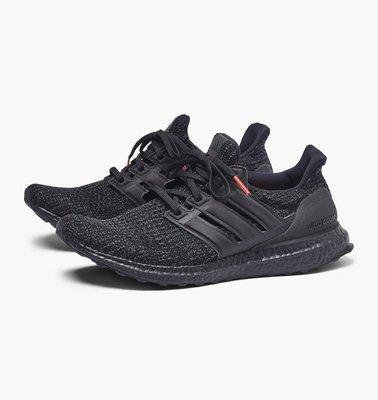 預購 Adidas Ultra Boost 4.0 Triple Black Nubuck Cage F36641