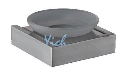 『MUFFEN沐雰衛浴』YR-503 簡約設計 毛絲髮絲霧面 304不鏽鋼 不銹鋼 香皂碟 肥皂架 衛浴室配件