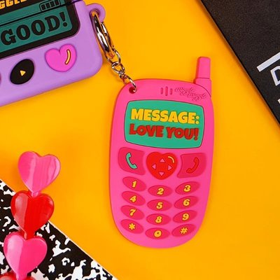 【Mr.簡小姐】 WIGGLE WIGGLE鑰匙扣PVC書包掛件軟可愛風復古鑰匙掛件鑰匙鏈女INSB6G8