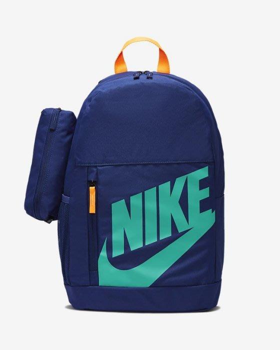 【E.P】NIKE ELEMENTAL 雙肩包 後背包 深藍 後背包 BA6030-492