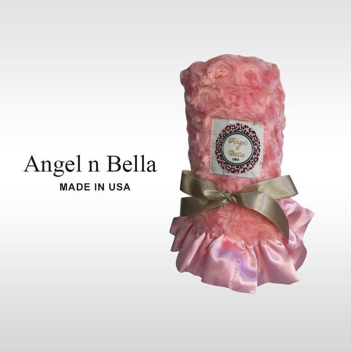 ☆°Angel n Bella.╯☆°【美國製】頂級時尚動物紋安撫毯-玫瑰粉~嬰兒毯/成人毯 (彌月禮/生日禮)