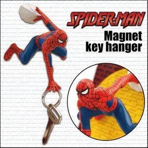 (預購商品) 牛牛小舖**日本空運代購 蜘蛛人吸盤式鑰匙掛勾