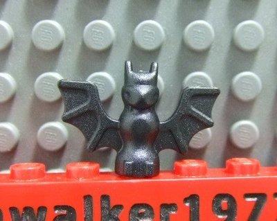 【積木1977】Lego 樂高-全新-動物 黑色蝙蝠 (Black)