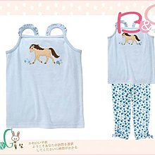 【B& G童裝】正品美國進口GYMBOREE馬兒圖樣淺藍色背心上衣6yrs