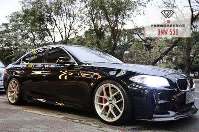 BMW 530 - FSK / RALON隔熱紙 全車隔熱紙-高雄上捷