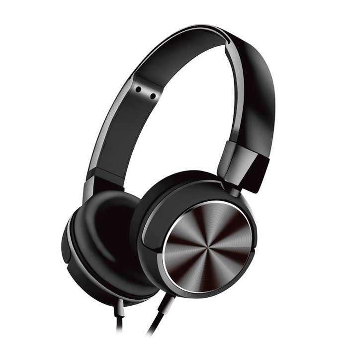 頭戴金屬立體聲耳麥IPEM7015 可折疊 來電接聽/掛斷 播放/暫停 上下曲切換 PC 手機通用 台南 PQS