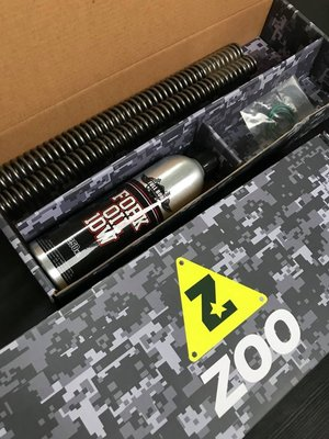 駿馬車業 ZOO X FULL BORE for GOGORO2 30芯/31芯 強化前叉彈簧組 全家取貨免運費
