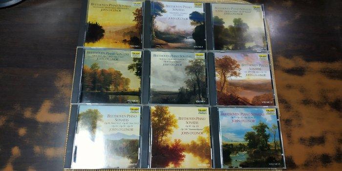 好音悅 John O'Conor Beethoven 貝多芬 鋼琴奏鳴曲全集 9CD  TELARC 美版 無IFPI