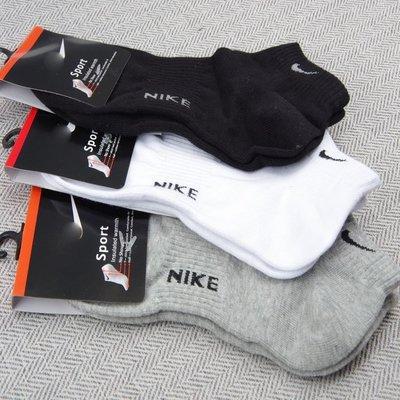 Nike襪 【 款  春 薄款船襪 】【L號】【三色可選】【 】