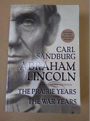 不二書店 CARL SANDBURG ABRAHAM LINCOLN