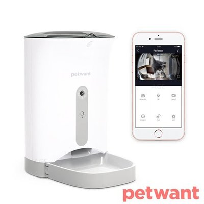 派旺-PETWANT-APP智慧寵物餵食器-F1-C 夜視鏡頭/魚眼廣角鏡頭
