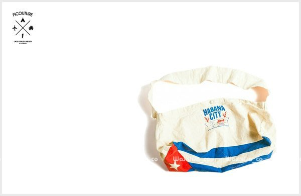 WaShiDa PLUS+【 ficouture News Paper Bag 復古 仿舊 豌豆包 側背包 旅行袋 】